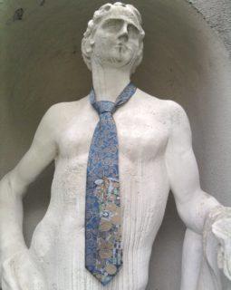 Gustav Klimt erfüllung blau